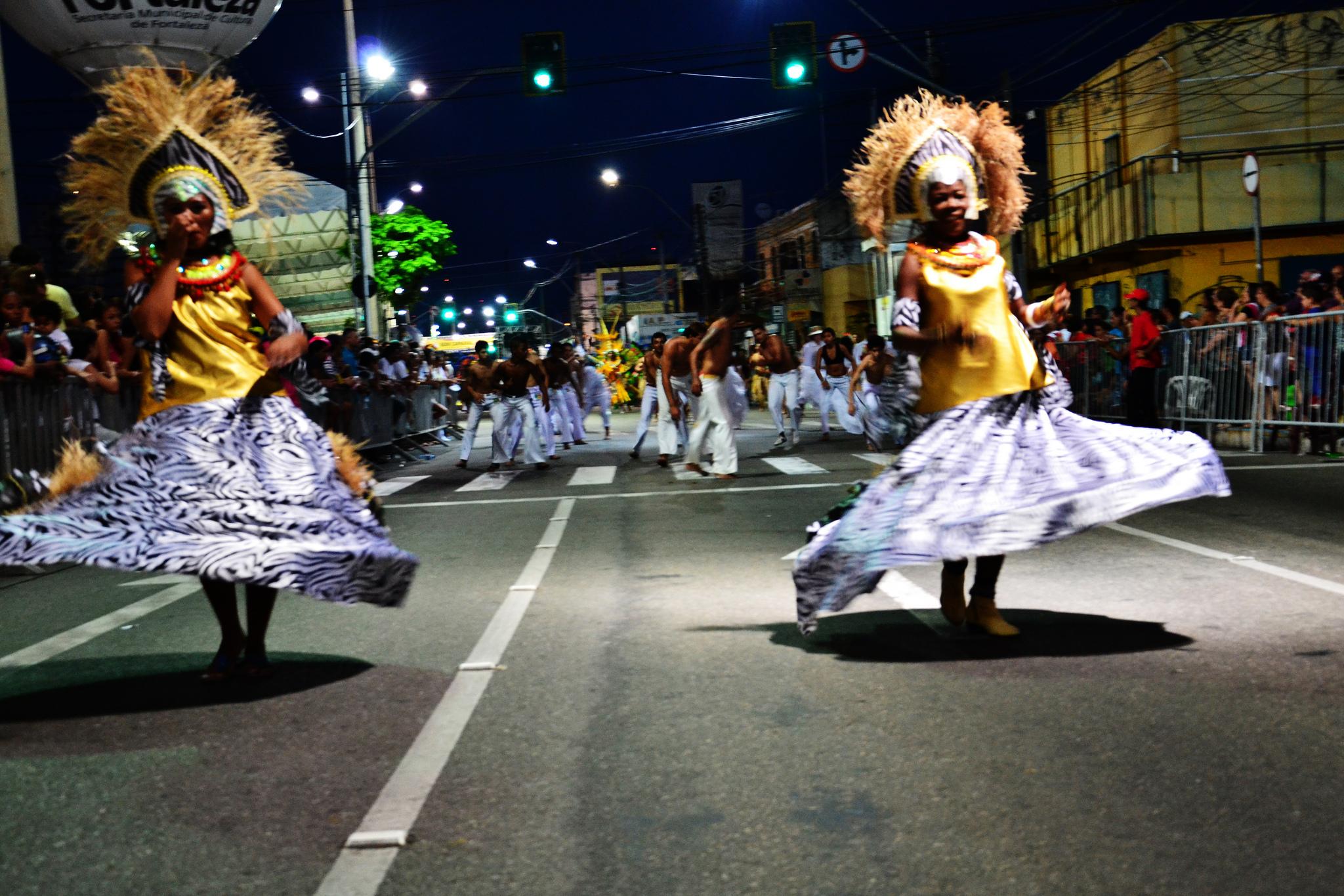 Carnevale a Fortaleza Brasile