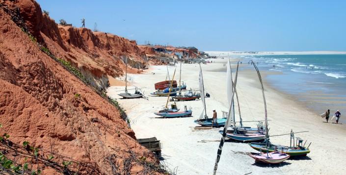Canoa quebrada Ceara, praias em fortaleza
