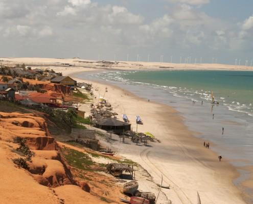 Canoa Quebrada spiaggia vicino Fortaleza