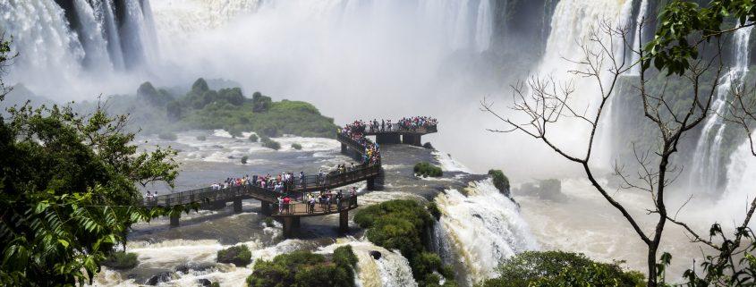 le cascate di Foz de Iguaçu